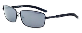Harley-Davidson Designer Sunglasses HDX845-BLK in Black Frame & Grey/Silver Flash Lens