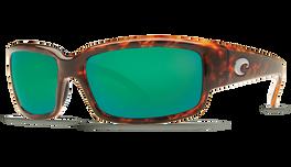 Tortoise & Green Mirror Lens