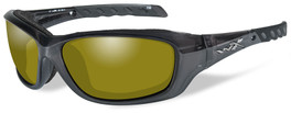 Wiley X Gravity in Black Crystal & Polarized Yellow