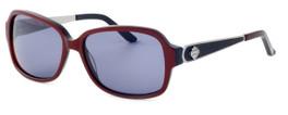 Harley-Davidson Designer Sunglasses HDX848-RD in Red Frame & Grey Lens