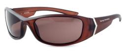 Harley-Davidson Designer Sunglasses HDV004 in Matte-Brown Frame & Brown Lens