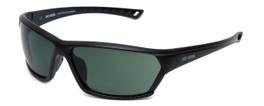 Harley-Davidson Official Designer Sunglasses HD0106V-02N in Matte-Black Frame with Green Lens