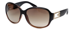 Guess  Designer Sunglasses GU7226 in Brown Frame with Brown Gradient Lens