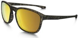 Oakley Designer Sunglasses Enduro in Matte Sepia & 24K Iridium Lens (OO9223-27)