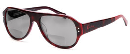 Lucky Brand Backbeat Polarized Bi-Focal Reading Sunglasses in Tortoise-Pink