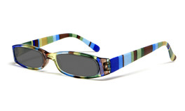 Calabria Striped Womens Reading Sunglasses with Matching Case R576S