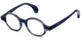 Calabria Designer Eyeglasses Calabria 856 Blue :: Custom Left & Right Lens
