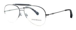 Emporio Armani Designer Eyeglasses EA1020-3003 in Gunmetal 57 mm :: Custom Left & Right Lens