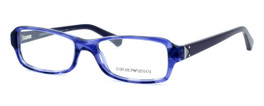 Emporio Armani Designer Eyeglasses EA3016-5098 in Purple :: Custom Left & Right Lens