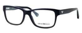 Emporio Armani Designer Eyeglasses EA3051-5348 in Purple :: Custom Left & Right Lens