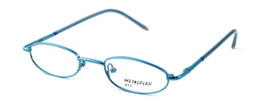 Calabria Kids Fit MetalFlex Designer Eyeglasses TT in Blue :: Custom Left & Right Lens