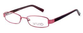 Calabria Viv Kids 117 Designer Eyeglasses in Wine :: Custom Left & Right Lens