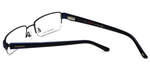 7fbacff1367d ... Carrera Designer Eyeglasses CA7585-1P6 in Matte Blue 52mm    Custom Left    Right ...