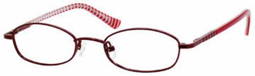 Seventeen Designer Eyeglasses 5301 in Burgundy :: Rx Single Vision