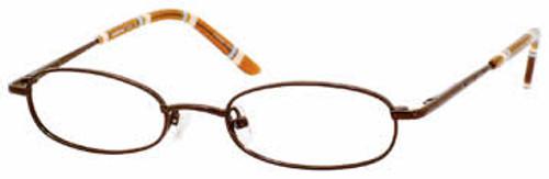 Seventeen Designer Eyeglasses 5303 in Brown :: Rx Single Vision
