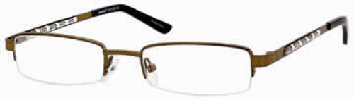 Seventeen Designer Eyeglasses 5310 in Brown :: Rx Single Vision