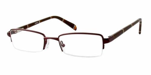 Seventeen Designer Eyeglasses 5311 in Brown :: Rx Single Vision