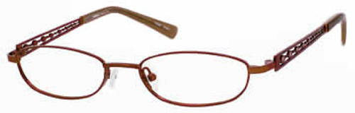 Seventeen Designer Eyeglasses 5334 in Brown :: Rx Single Vision