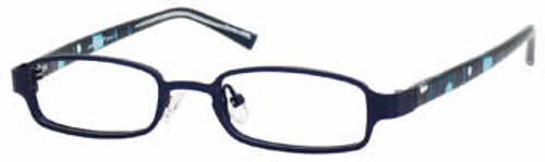 Seventeen Designer Eyeglasses 5344 in Navy :: Rx Single Vision