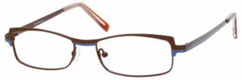 Marc Hunter Designer Eyeglasses 7224 in Matte Brown :: Rx Single Vision