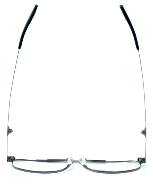 28485bb97450 ... Calabria FAST-FOLD Metal Folding Eyeglasses w  Case in Pewter    Rx  Single ...