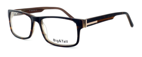 """Calabria Optical Designer Eyeglasses """"Big And Tall"""" Style 10 in Tortoise :: Rx Single Vision"""