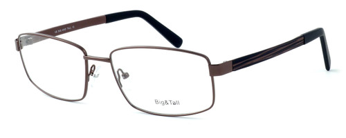 """Calabria Optical Designer Eyeglasses """"Big And Tall"""" Style 12 in Brown :: Rx Single Vision"""