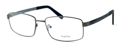 """Calabria Optical Designer Eyeglasses """"Big And Tall"""" Style 12 in Gunmetal :: Rx Single Vision"""