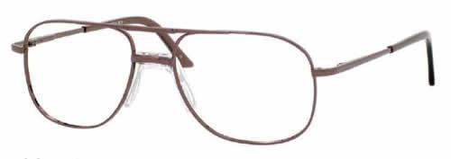 Woolrich Designer Eyeglasses 7874 in Brown 56MM :: Rx Single Vision
