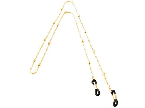 Calabria 722 Gold Eyeglass Necklace