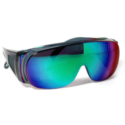 CALABRIA 1003GM Economy Fitover with UV PROTECTION IN GREEN MIRROR