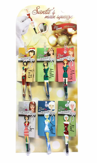 Diva Tweezer Display Holidays Theme