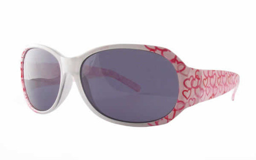 Calabria Kids Designer Sunglasses 6731AF in White