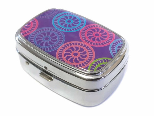 Elite Light Up Portable Pill Box in Style 6