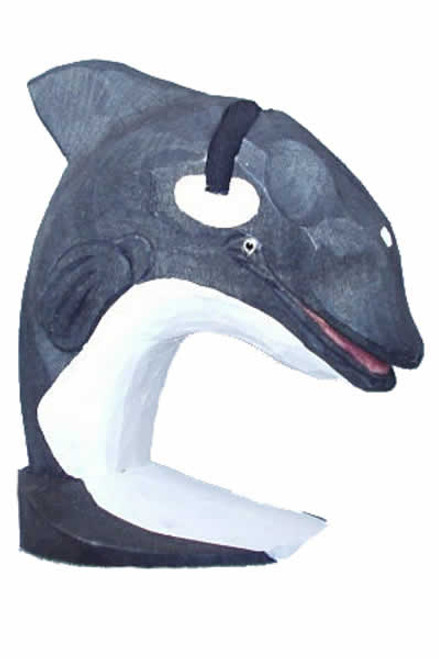 Orca Whale Peeper Eyeglass Holder Stand