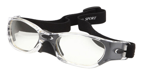 ProTech Sports Goggle Z87.1+ Safety Rated-Black w/ Optical Rx Inserts