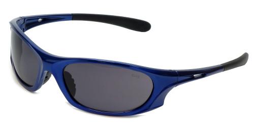 Global Vision Eyewear Full Lens RX Safety Series Ridge in Blue