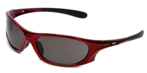 Global Vision Eyewear Full Lens RX Safety Series Ridge in Red