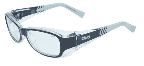 Global Vision Eyewear Full Lens RX Safety Series RX-E in Black