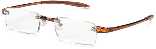 Visualites Lightweight & Flexible Reading Glasses in Tortoise