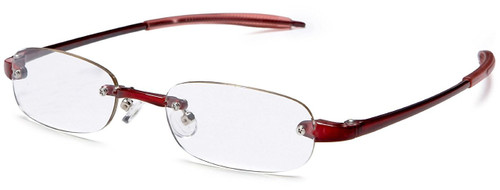 Visualites Lightweight & Flexible Reading Glasses in Red