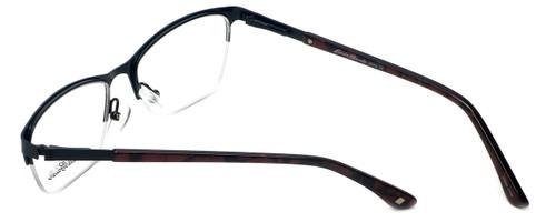 bc2bcee53e18 ... Eddie-Bauer Designer Eyeglasses EB8602 in Satin-Black-Burgundy 51mm     Custom ...