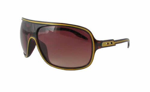 Calabria Fashion Sunglasses Speed Racer in Tortoise