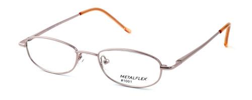 Calabria Kids Fit MetalFlex Designer Reading Glasses 1001 in Pink
