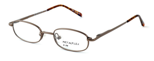 Calabria Kids Fit MetalFlex Designer Reading Glasses FF in Brown