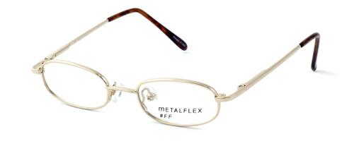 Calabria Kids Fit MetalFlex Designer Reading Glasses FF in Gold