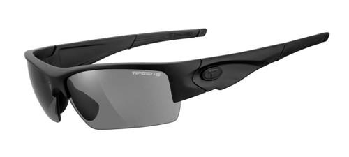 TIFOSI Tactical Eyewear Lore in Matte Black, Smoke / HC Red / Clear