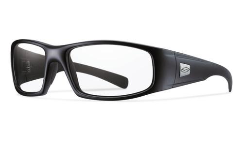 Smith Optics HIDEOUT ELITE in BLACK & CLEAR Lens