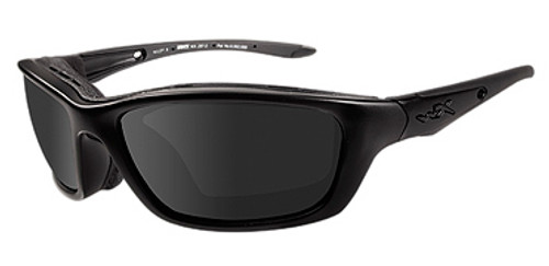 Wiley X Brick Climate Control in Matte Black w/ Grey Lens