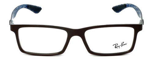 b4f3f39a30d Ray-Ban Designer Reading Glasses RX8901-5612 in Brown 53mm - Speert ...